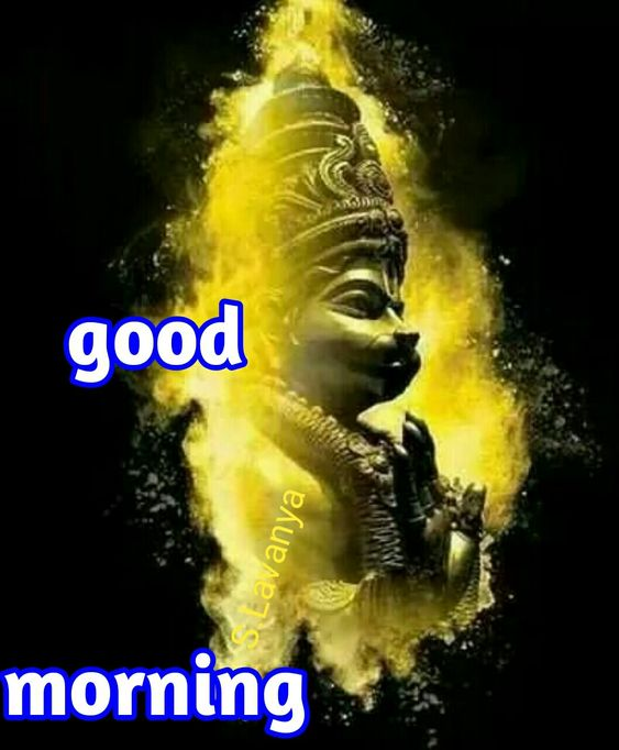 Good Morning Hanuman Ji God Image
