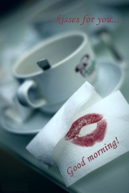 Good Morning Kiss Romantic Image