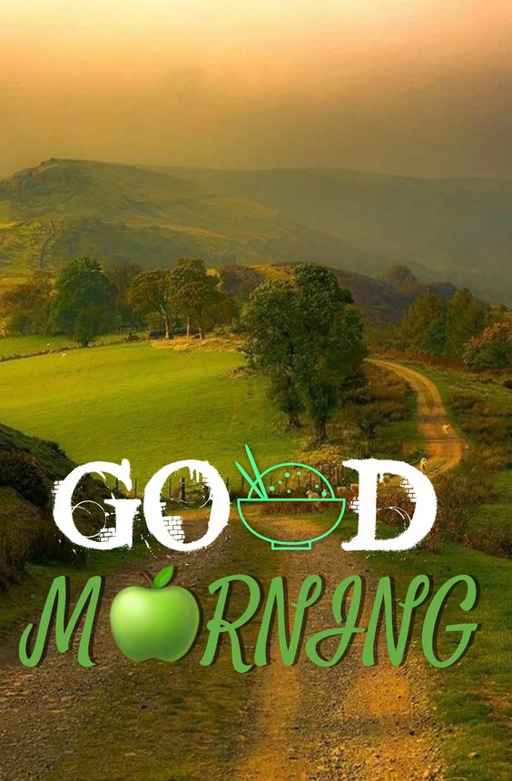 Good Morning Nature Greeny Photo Image