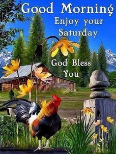 Good Morning Saturday Blessing Image
