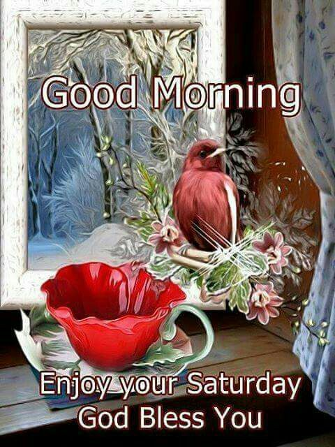 Good Morning Saturday God Bless Image