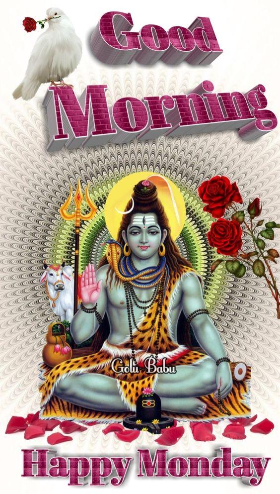 853 Lord Shiva Monday Good Morning Images Hd In Hindi
