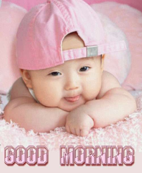 851 Kids Good Morning Cute Baby Images Wishes Quotes Pictures
