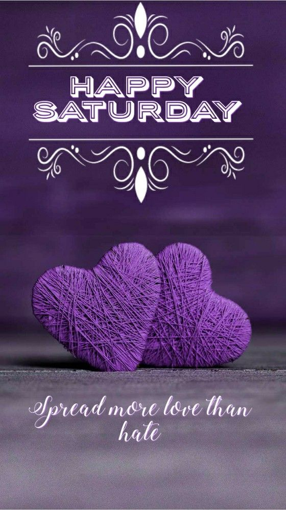 Happy Saturday Good Morning Heart Image
