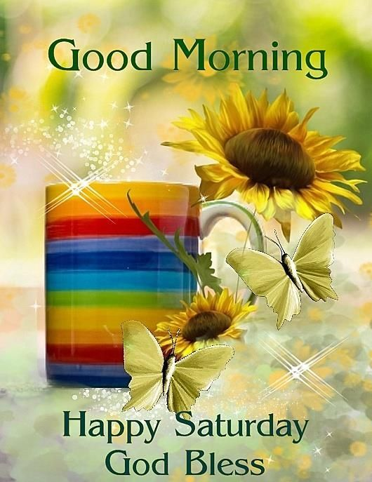 Happy Saturday Wishing Good Morning Image Pic