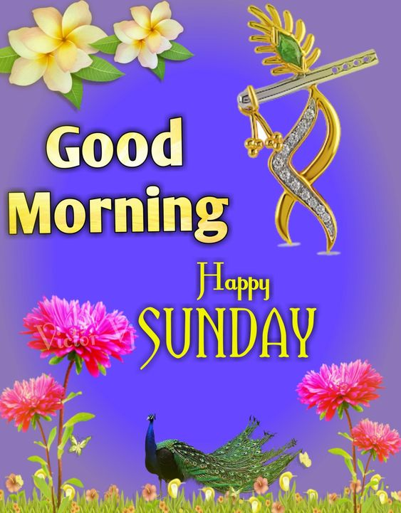 Happy Sunday Good Morning HD Image God