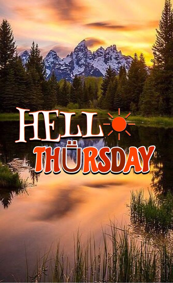 Happy Thursday Good Morning Image Wallpaper