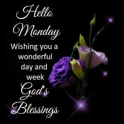 Monday Good Morning Blessing Images Pic