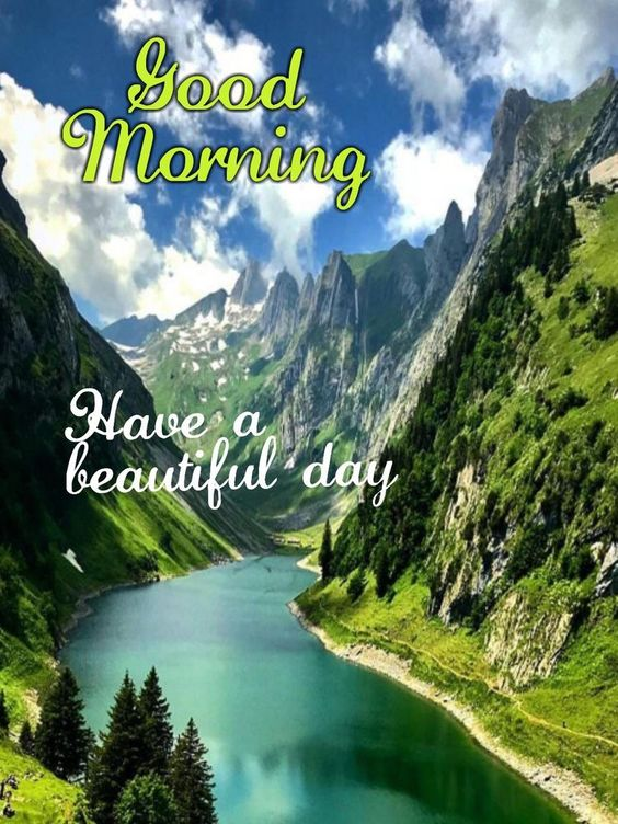 Nature Good Morning Wishes Image Photo