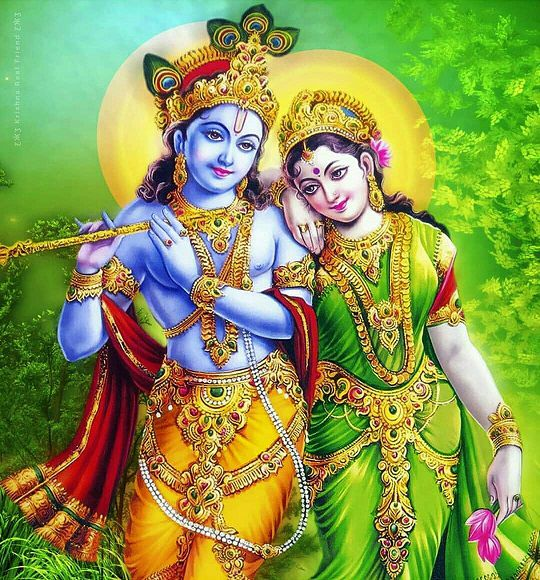 Radha Krishna Hindi Kavita