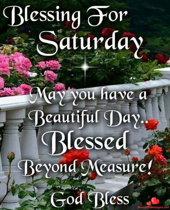 Saturday Blessing Good Morning Image HD