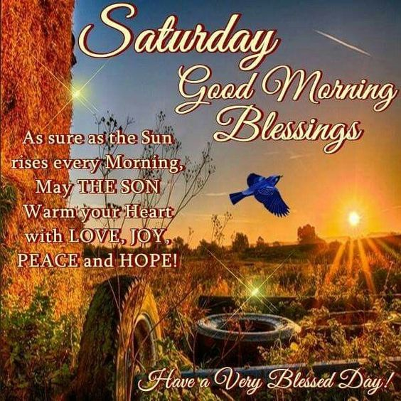 Saturday Good Morning Wishing Image Pics