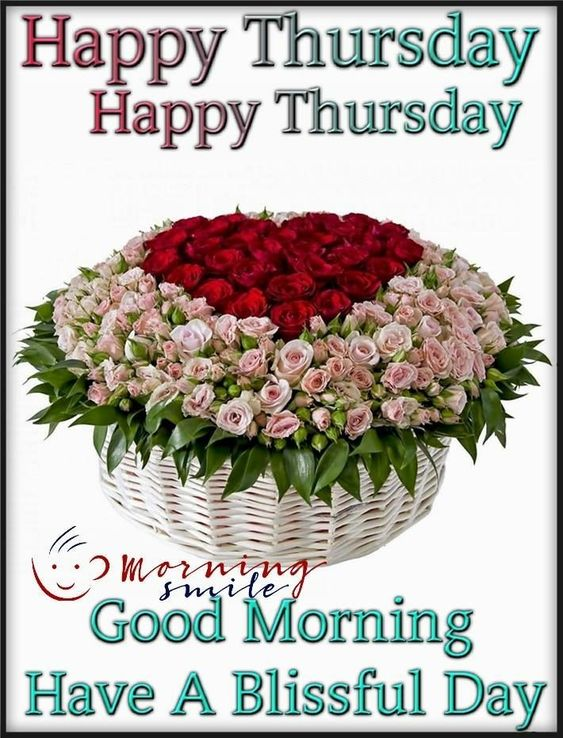 Thursday Good Morning Blessing Image