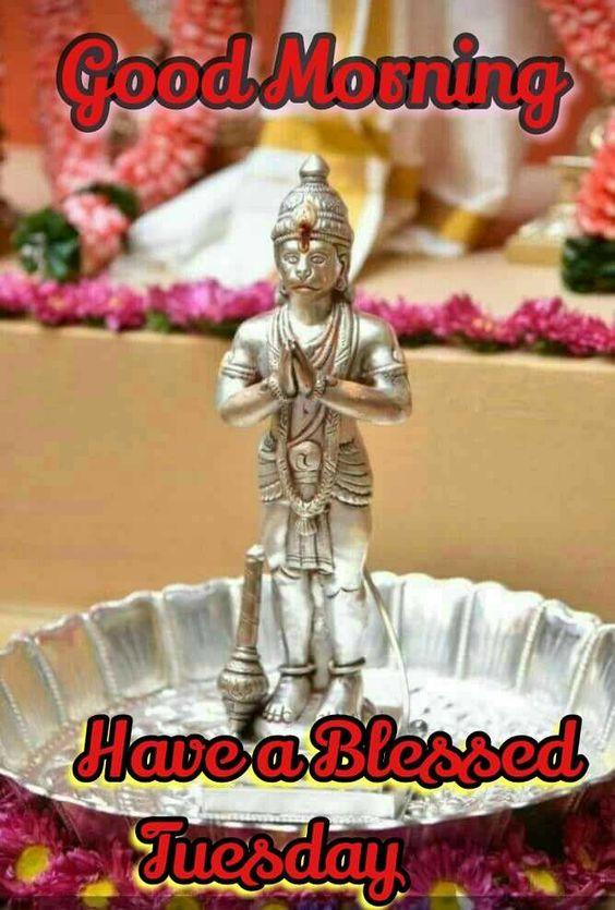 Tuesday Good Morning Hanuman Image