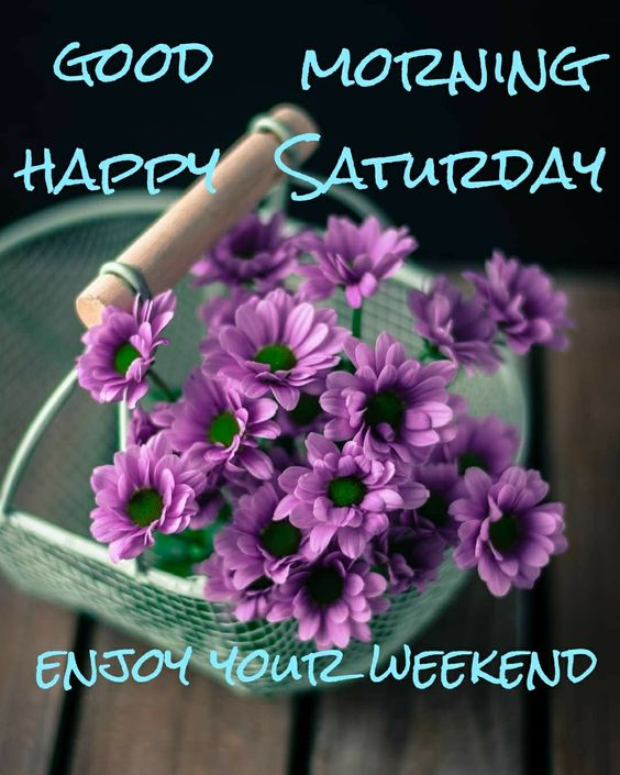 Weekend Good Morning Saturday Image HD