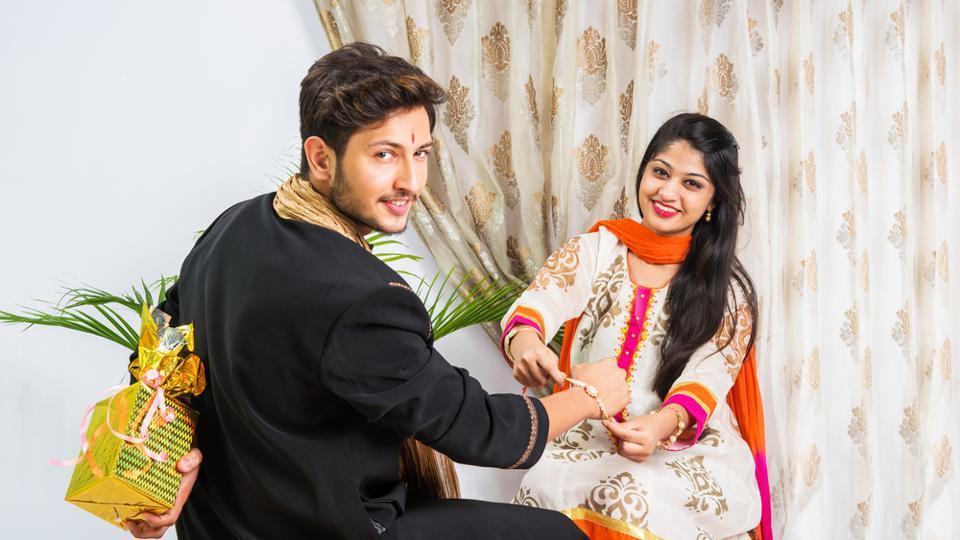 Raksha Bandhan Bhai Bahan Photos