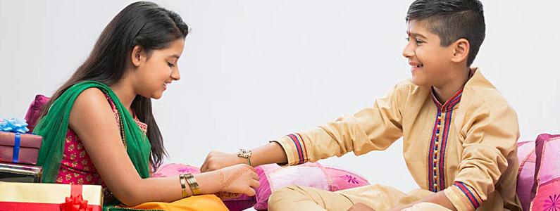 Raksha Bandhan Festivel Image Cute Bro Sis Love Photo