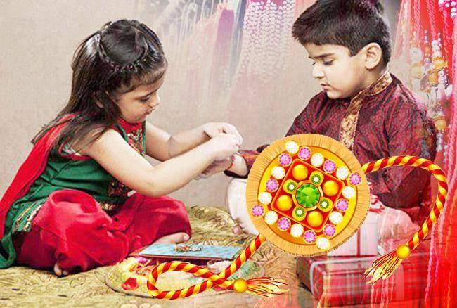 Raksha Bandhan Rakhi Festivel Tyohar Image Photo