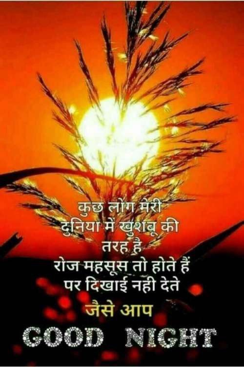 Good Night Very Good Hindi Quote Pics