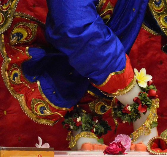 Feet of God Shri Krishna