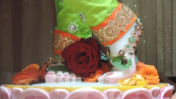 Photo Foot Picture of God Shri Krishna