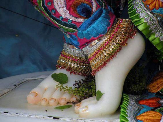 Picture of Bhagwan Krishna Lotus Foot