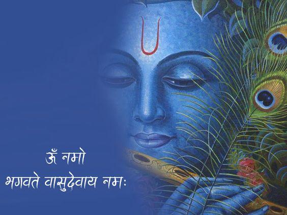 Vasudev Krishna Image for Good Morning in Hindi