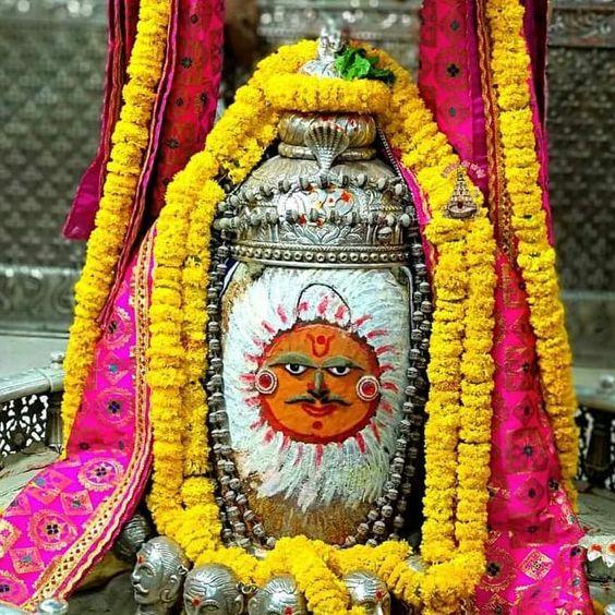 Mahakal Baba of Ujjain Mahakal Mandir Darshan Image