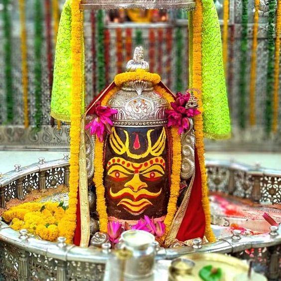 Mahashiv Ujjain Mahakal Picture Bhasm Aarti