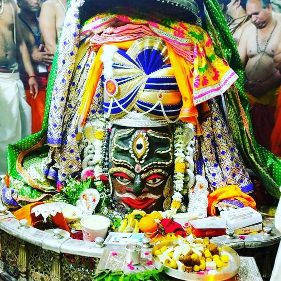 Shiv Ujjain Mahakaleshwar Puja in Mandir Photo