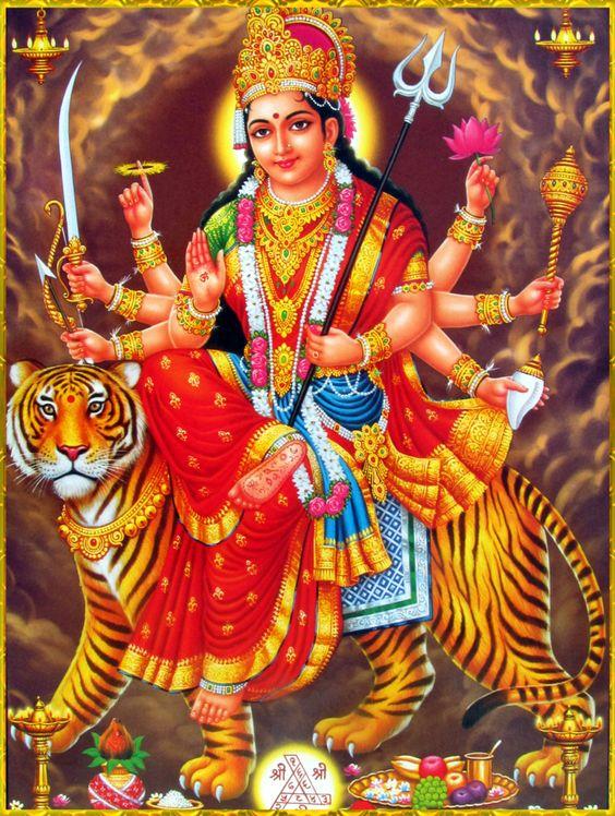 Android Wallpaper Durga Mata Ji HD Free