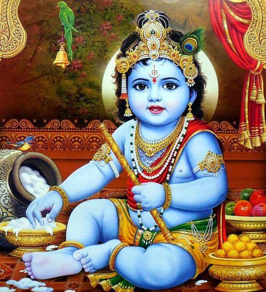 Cute Little Kanha HD Wallpaper Child Krishna