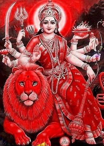 Durga Devi Maiya Photo for Hindu