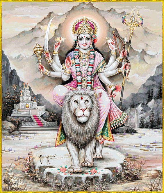 Durga Maiya Ambe Maa Ke HD Wallpaper Download