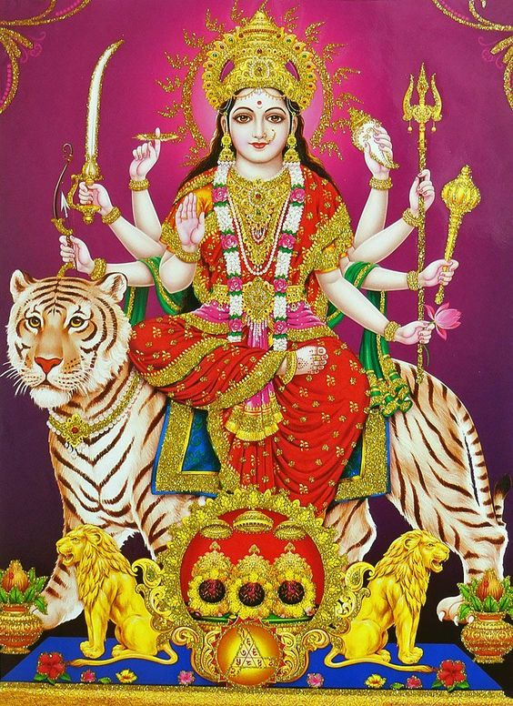Durga Maiya Goddess of Power Photo for Facebook