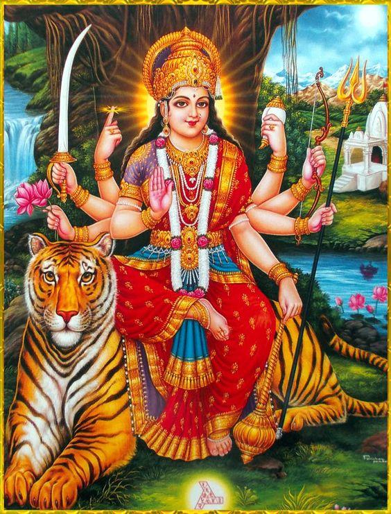 Durga Maiya Jagdamba Devi Ke Latest Wallpaper