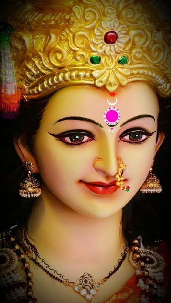 Durga Maiya Ka Face Wallpaper for Whatsapp DP