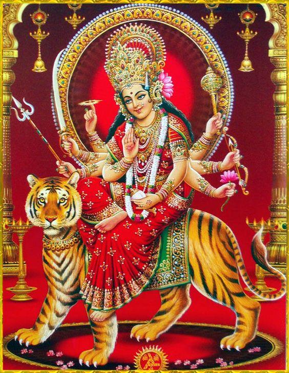 Durga Maiya Shakti Ki Devi Ki Photo