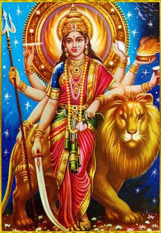 Durga Maiya Sherawali Maiya Ka Free Photo