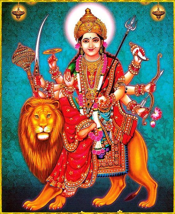Durga Mata Ji Android Wallpaper for Mobile