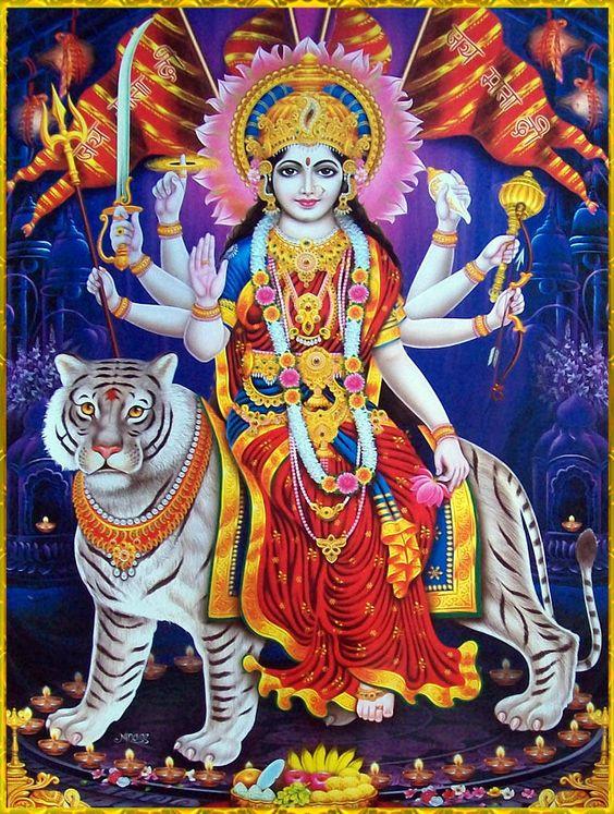 Durga Mata Ji Facebook Story Wallpaper DP New to Download