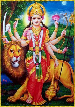 Durga Mata Ji Sherawali Goddess Picture Whatsapp Download