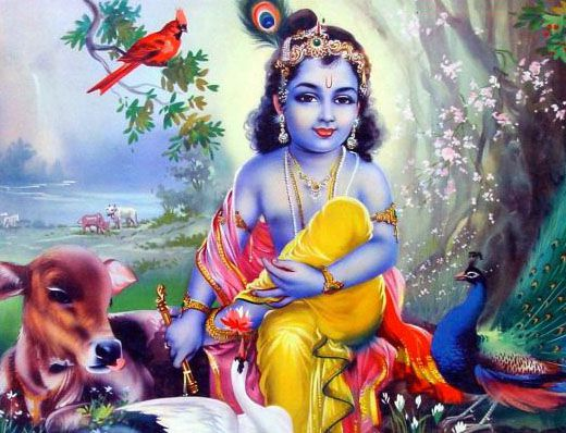 God Kanha Childhood Wallpaper Smiling Kanha Very Cute