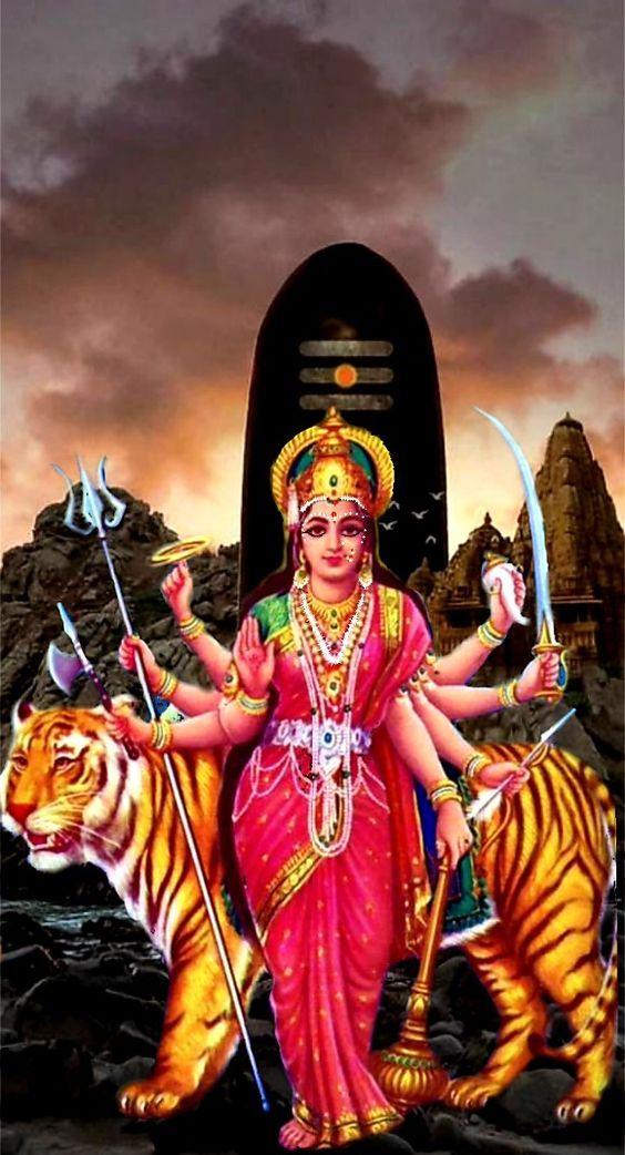 Hindu Durga Maiya Devi Ji Ke Picture