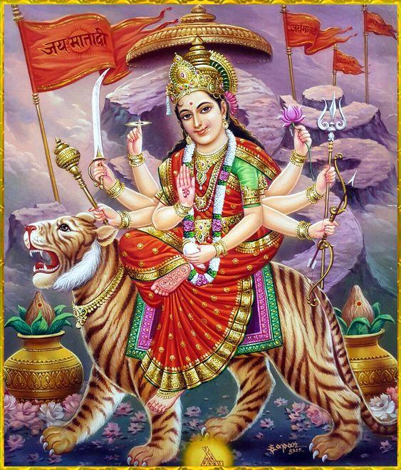 Jai Mata Ji Bhagwan HD Devi Wallpaper New Download