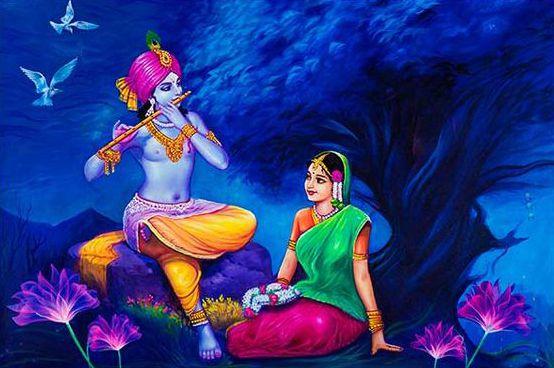 Love Wallpaper of Radha Krishna for Whatsapp DP