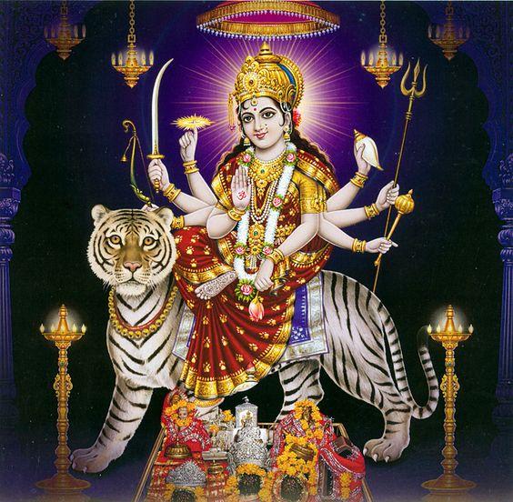 Maa Ambe Sherawali Durga Maiya Shakti Image Best Download