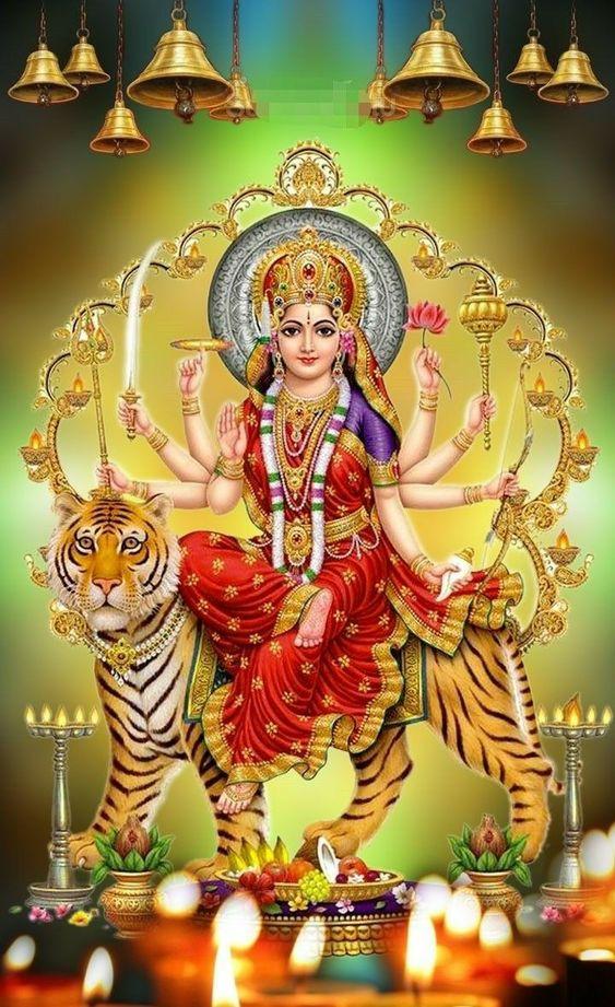 Maa Durga Maiya Ki HD Photo