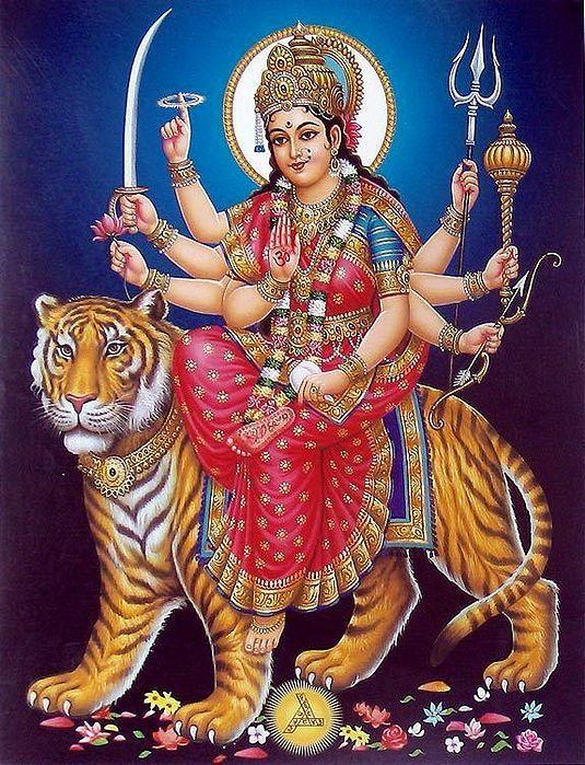 Mata Ji Durga Ambe Photo Fresh HD Download
