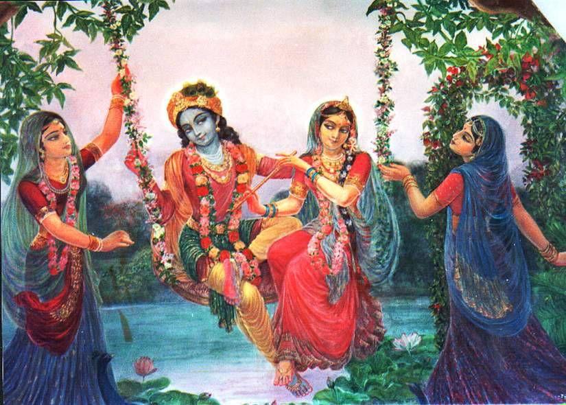 Radha Krishna Gopies Love Wallpaper HD Latest Download